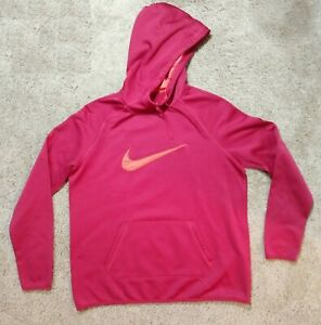 Nike Young Men's Red Swoosh Pullover Hoodie Size:L RN#56323 CA#05553