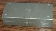 Vintage 1960's Electro Voice Microphone Case Box w RE-10 re10 ANTIQUE mic mike
