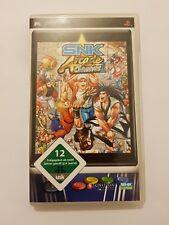 SNK Arcade Classic vol.1 Sony PSP pal Alemania y COMPLETO version INGLES LEER!
