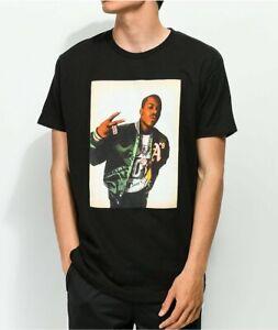 Mens Black Cross Colours 90s Legend Too Short Peace Hip Hop Legends Tee T-Shirt