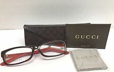 NEW AUTHENTIC GUCCI GG3599/F L9C Havana Red Eyeglasses 56 15 140 ITALY