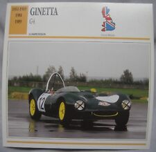 Ginetta G4 Collectors Classic Cars Card