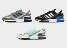 New adidas Originals Men's ZX 750 HD Trainers - Grey, White, Black