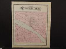 Nebraska Dawson County Map Gothenburg Antelope Township c.1904 J10#26
