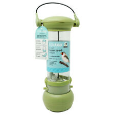 Wild Bird 2 Port Nyjer Seed Hanging Feeder With Lock Top