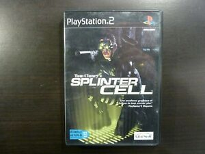 Sony PS2 Tom Clancy's Splinter Cell  complet  PAL Vers. Fr.