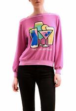 Wildfox Damen Zeit für einen anderen Brunch Pullover Lavendel Rosa XS UVP 95 £ B