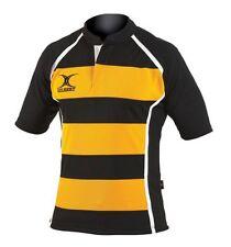 Gilbert Rugby Trikot - Xact Hoop - Schwarz/Gelb