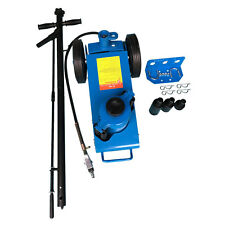 22 Ton Air Hydraulic Floor Jack HD Truck Lift Jacks Repair Lifting Tool Blue