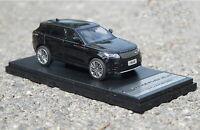 LCD 1/43 Scale Land Rover Range Rover Velar Black SUV Diecast Car Model Toy