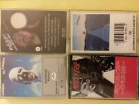 4x LOT Classic Rock & Roll Music Cassettes 1970-80s Scorpions Motley Judas Seger