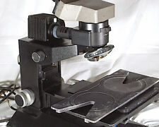 Olympus Metallurgical Microscope  with vertical illuminator and large stage