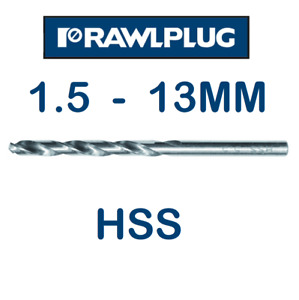Drill Bits HSS ✅Quality Steel Bits✅ ⭐Full Range of Sizes⭐ Great Prices⭐