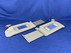 95-05 Chevy S10 Blazer Sun Visor Set Jimmy Sonoma Bravada Mirror Gray