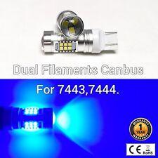 T20 7443 7444 12V 21 SMD Blue LED Light Front Signal M1 MAR
