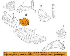 Mercedes MERCEDES-BENZ OEM 10-15 E350-Engine Motor Mount/Torque Strut 2122400418