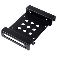 "Orico Black Aluminium 5.25"" To 3.5"" / 2.5"" PC Case Bay Converter Adapter Black"