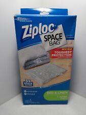 Ziploc Reusable Clothes Storage Bags, 2 Jumbo Vacuum Seal Storage Bags,32x42