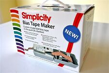 Bias Tape Maker Machine Simplicity Bias Tape Making Machine RRP £99 Fast Deliver