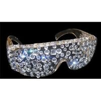 Rhinestone Sunglasses  - Jersey Shore Glasses - TV Show  Costume Accessory