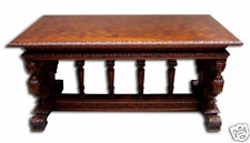 Victorian Table with Carved Base  #7166