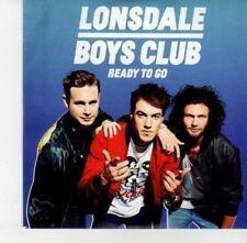 (DJ215) Lonsdale Boys Club, Ready To Go - 2012 DJ CD