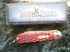 RR1140 Rough Rider Electrician Red Jigged Bone Handles Pocket Knife