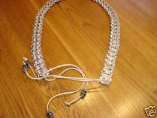 Pull PopTop belt juniors womens girls 32 in hemp handmade