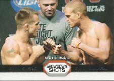 Sean Sherk Evan Dunham 2011 Topps UFC Moment Of Truth Showdown Shots # SSSD