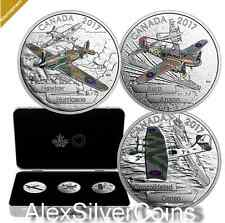 1 oz. 99.99% Pure Silver 3-Coin Subscription – Aircraft of The Second World War