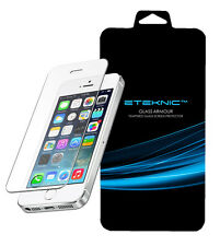 iPhone SE 5s 5 5c Tempered Glass Screen Protector Cover Protection Film eTEKNIC