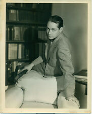 FRANCHOT TONE Orig 1930s Candid Photo Rusell Ball Photographer MGM DBWT