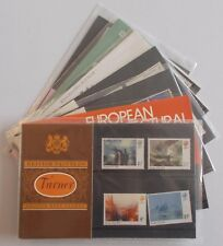 1975 Royal Mail Commemorative Presentation Packs. Each sold separately.