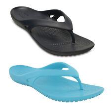 Crocs Kadee II Flip Flops Womens Foam Footbed Toe Post Sandals 2 Colours UK4-8