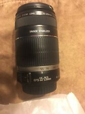 Canon EF-S 55-250mm f/4.0-5.6 II IS Zoom Lens