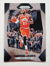 LEBRON JAMES 2017-18 PANINI PRIZM #191 BASE CARD CHROME