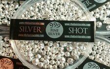 1 Troy oz. .999 Fine Silver Poured Shot (31.10 Grams)