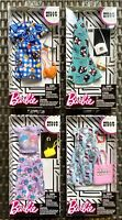 Barbie Doll Hello Kitty Fashion Clothes Pack Top Shirt Dress Skirt Set Of 4 New