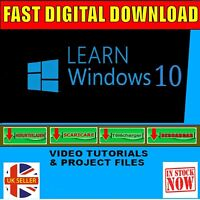 LEARN WINDOWS 10 SIMPLE EASY TO FOLLOW VIDEO TUTORIAL SYSTEM DOWNLOAD DELIVERY
