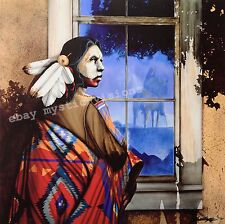 JD Challenger - REFLECTIONS FROM THE SHADOW SPIRIT - S/N - w/coa Native American
