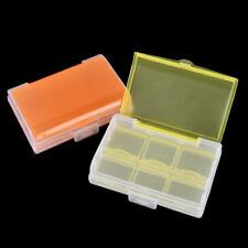 1pc Double-deck 6 Slots Weekly Pills Medicine Box Case Storage Random Color E&F