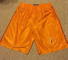 Indiana Pacers Hardwood Classics Throwback Team Issued Shorts Hickory Adidas XL