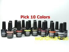 Artistic Nail Design Colour Gloss Soak Off Gel : 10 Colors * Choose Any Color *