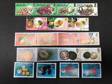 Brunei Lot of 5 Used/CTO Fruits Food Sets
