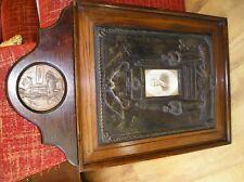 More details for ww1 memorial (death) plaque & plaster commemorative plaque l/cpl c.a. hotchen