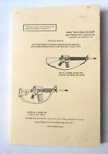 2001 Colt Rifle Technical Manual
