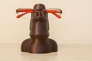 Moai Eyeglasses and Sunglasses Stand | Eyeglass Holder | Sunglass Holder | Glass