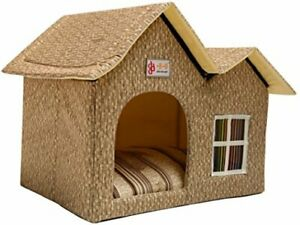 Pet Dog House Pet Product Indoor Outdoor Cage Bed Kennel Puppy Cat Cabin Villa