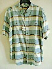 Mens Shirt Size XL Blue Outdoor Life