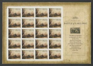 2013 US Forever Battle of Lake Erie War of 1812 Imperf Sheet Pane of 20 4805a